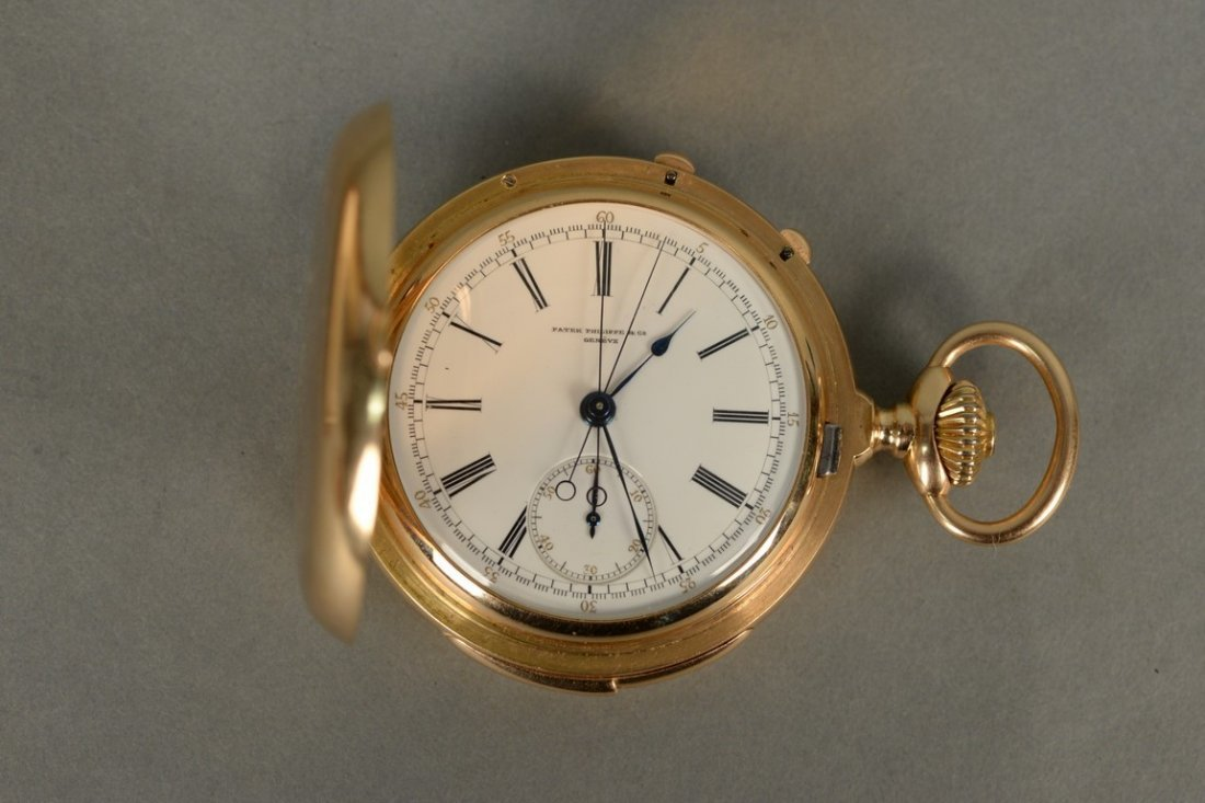 Patek Philippe minute repeater chronometer in 18K - 3