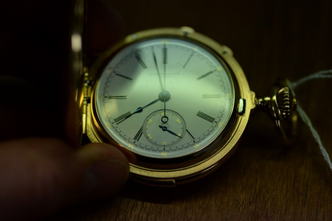 Patek Philippe minute repeater chronometer in 18K - 4