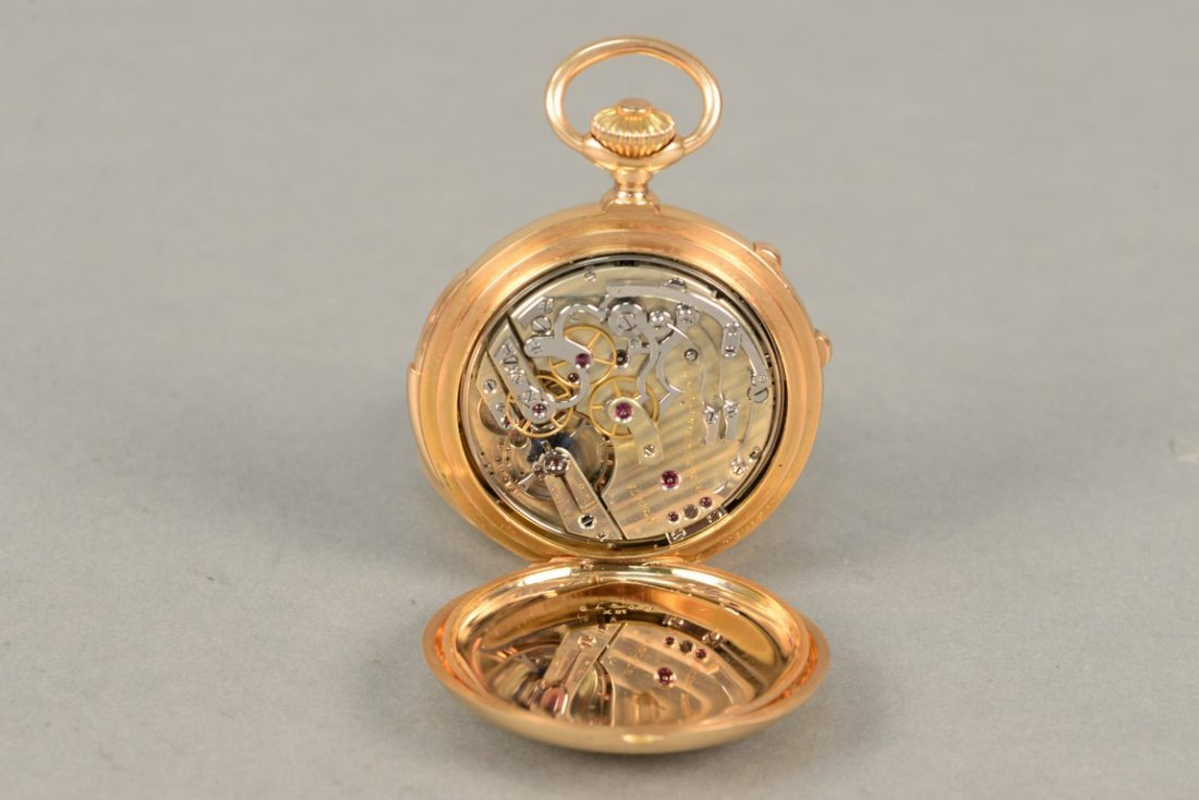 Patek Philippe minute repeater chronometer in 18K - 7