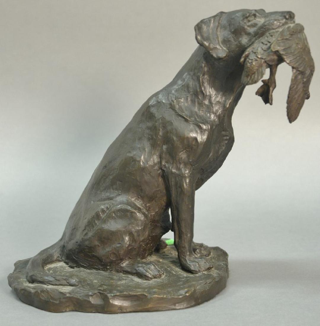 William Turner (b. 1943)  bronze  Labrador Retriever
