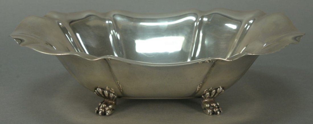 """Reed and Barton sterling silver """"Salem"""" footed bowl"""