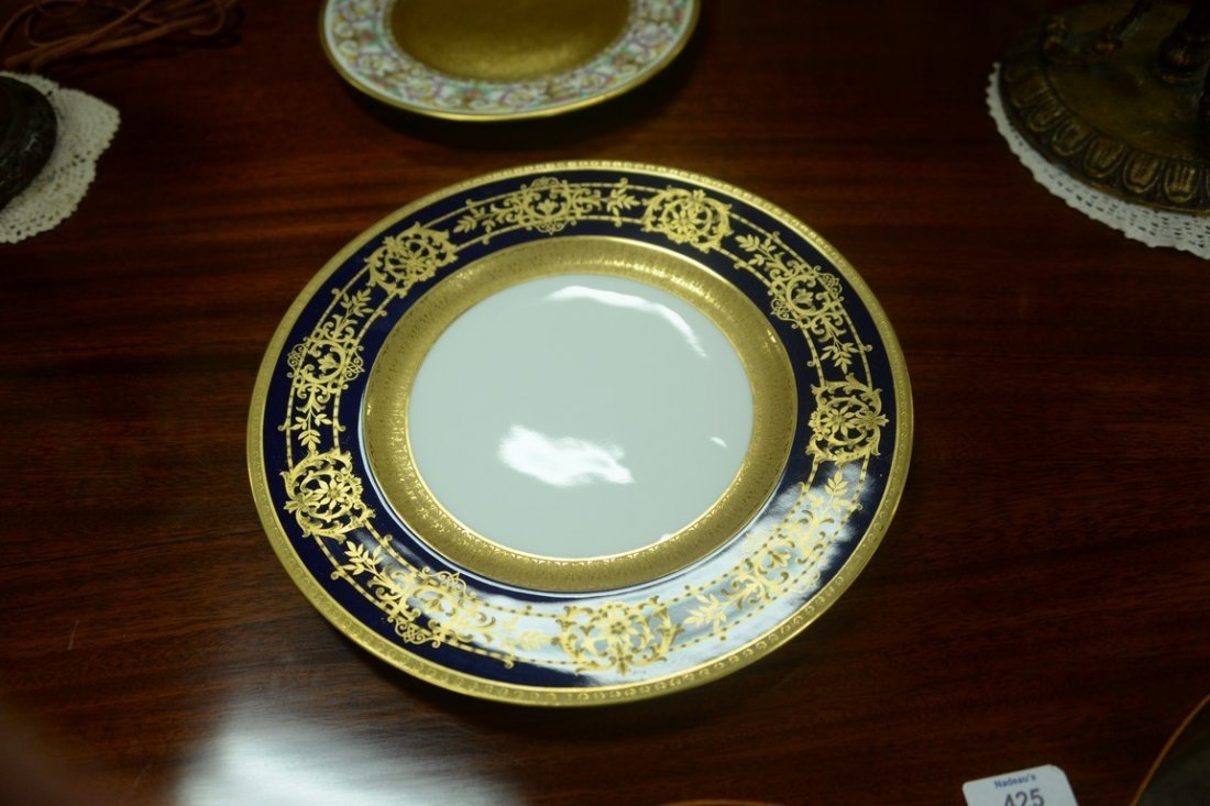Set of twelve Hutschenreuther Gelb and Bavaria dinner - 10
