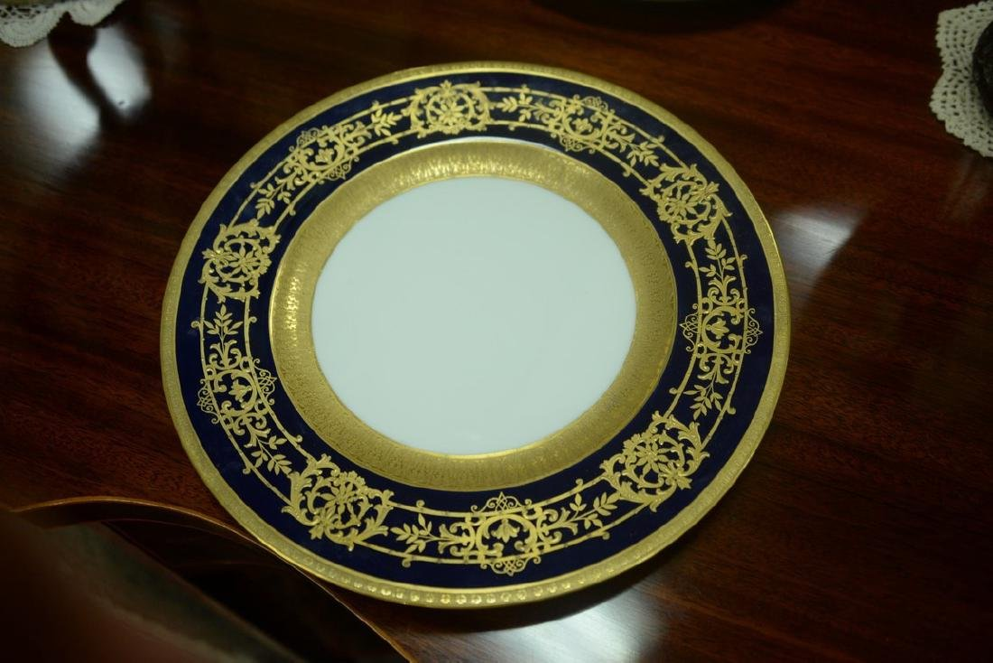 Set of twelve Hutschenreuther Gelb and Bavaria dinner - 11