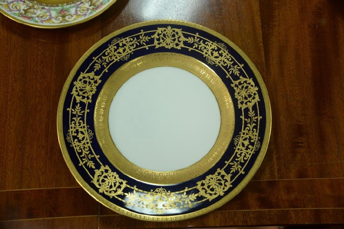 Set of twelve Hutschenreuther Gelb and Bavaria dinner - 12