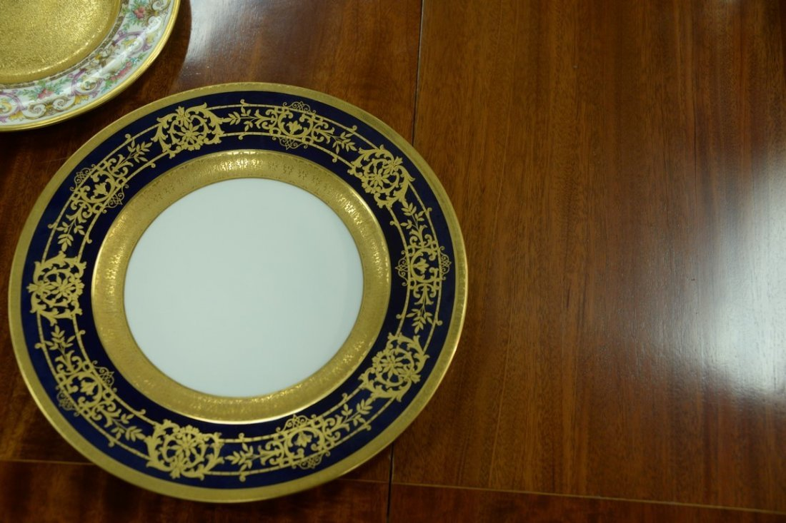Set of twelve Hutschenreuther Gelb and Bavaria dinner - 6