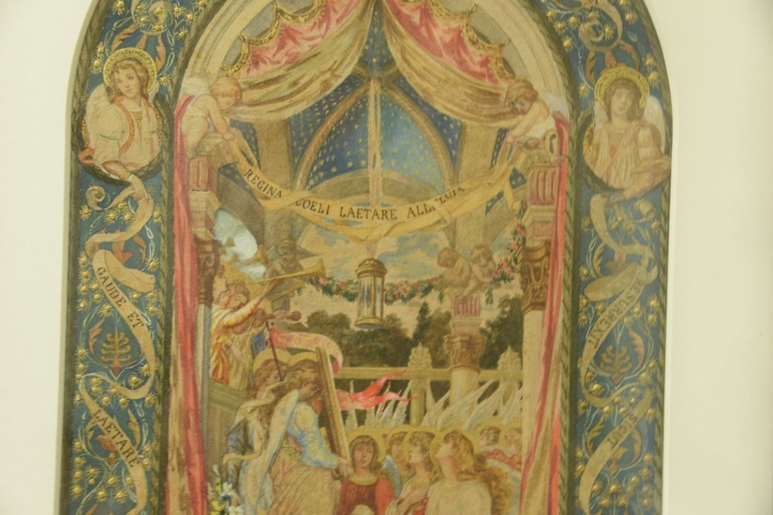Giuseppe Catani (1866-1945)  watercolor  Celebration of - 3