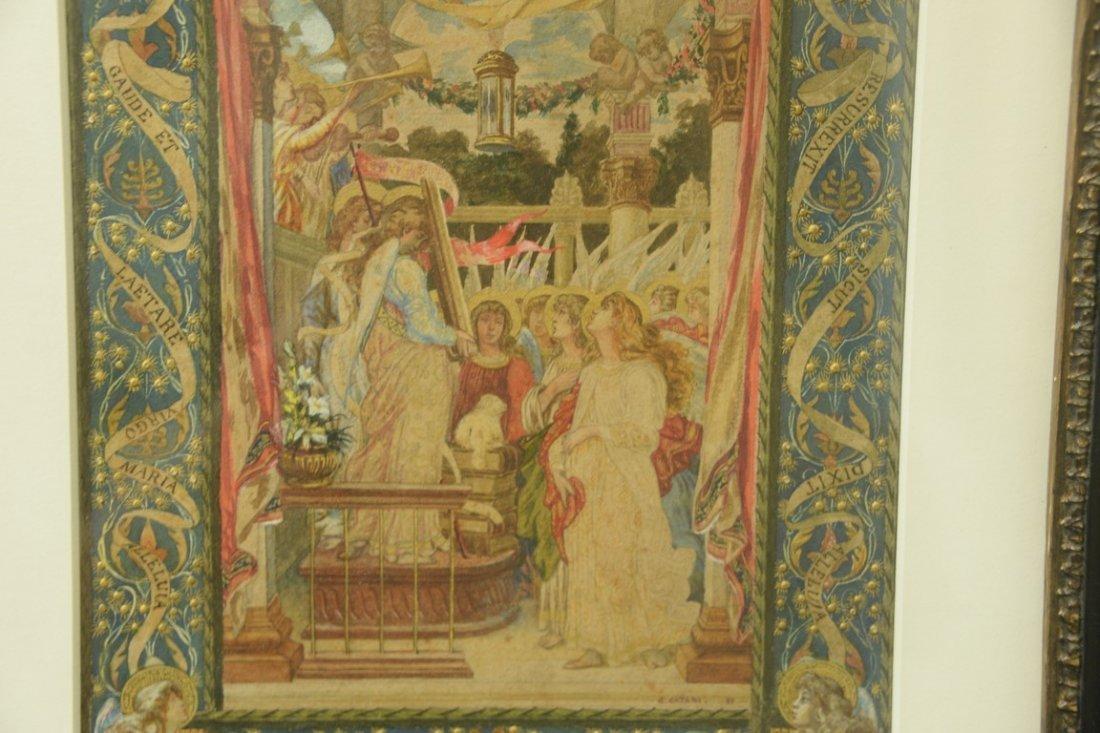 Giuseppe Catani (1866-1945)  watercolor  Celebration of - 4