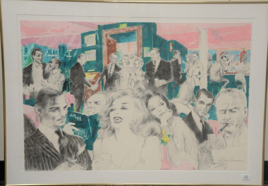 LeRoy Neiman (1921-2012)  1989 limited edition