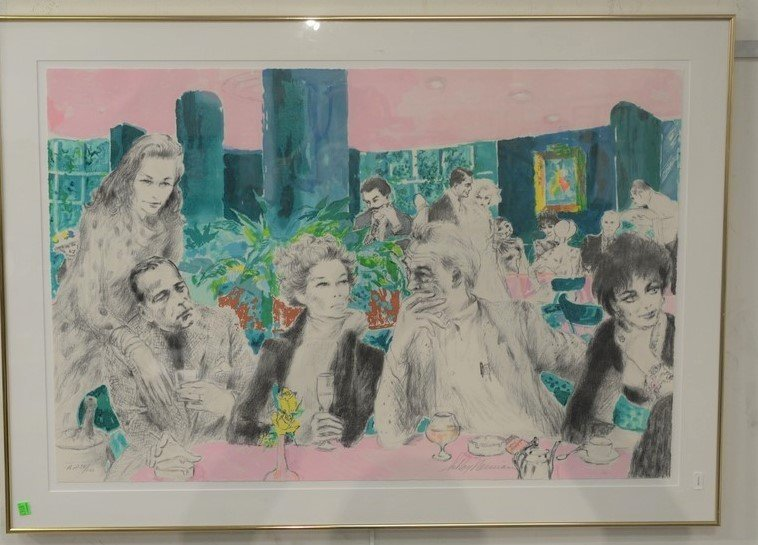 LeRoy Neiman (1921-2012)  1989 limited edition - 2