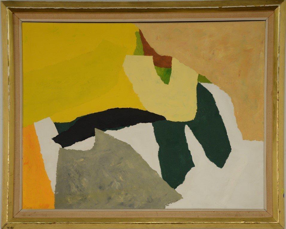Donald Hamilton Fraser (1929-2009)  oil on canvas