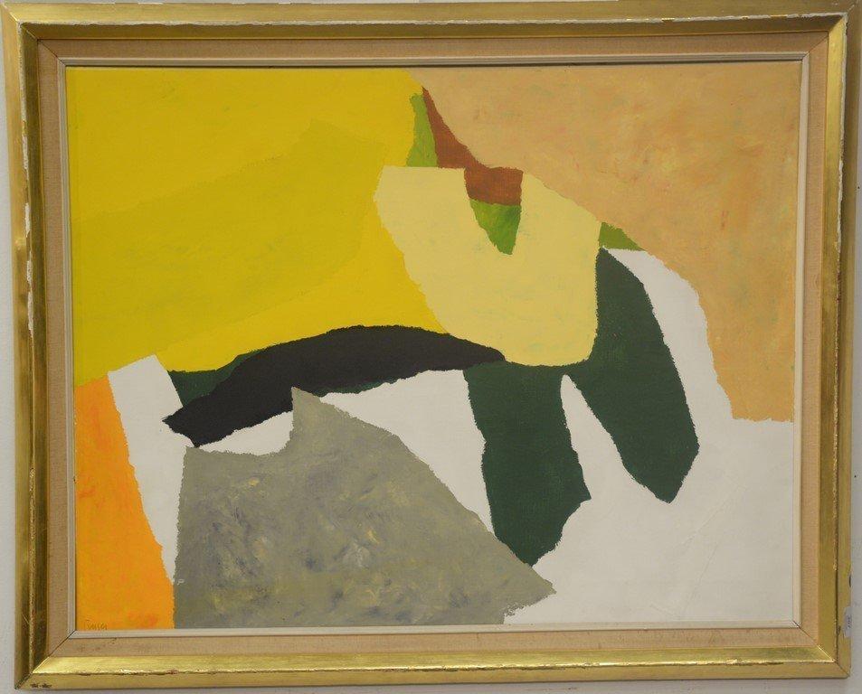 Donald Hamilton Fraser (1929-2009)  oil on canvas - 6