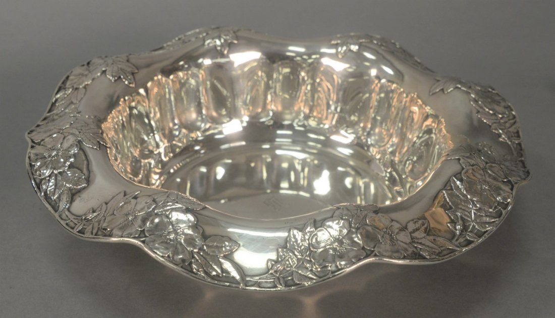 Tiffany & Co. sterling silver center bowl marked