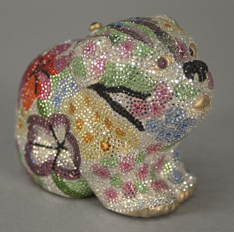 "Judith Leiber jeweled crystal miaudiere purse ""Millie"","