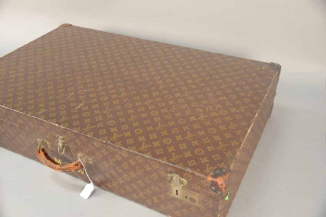 Louis Vuitton monogram canvas suitcase, hard shell with - 10