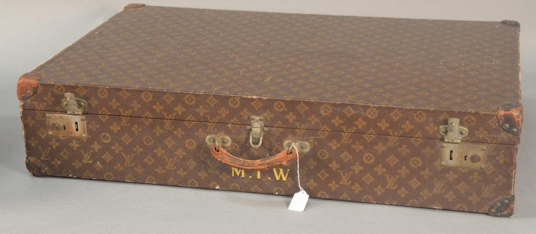 Louis Vuitton monogram canvas suitcase, hard shell with