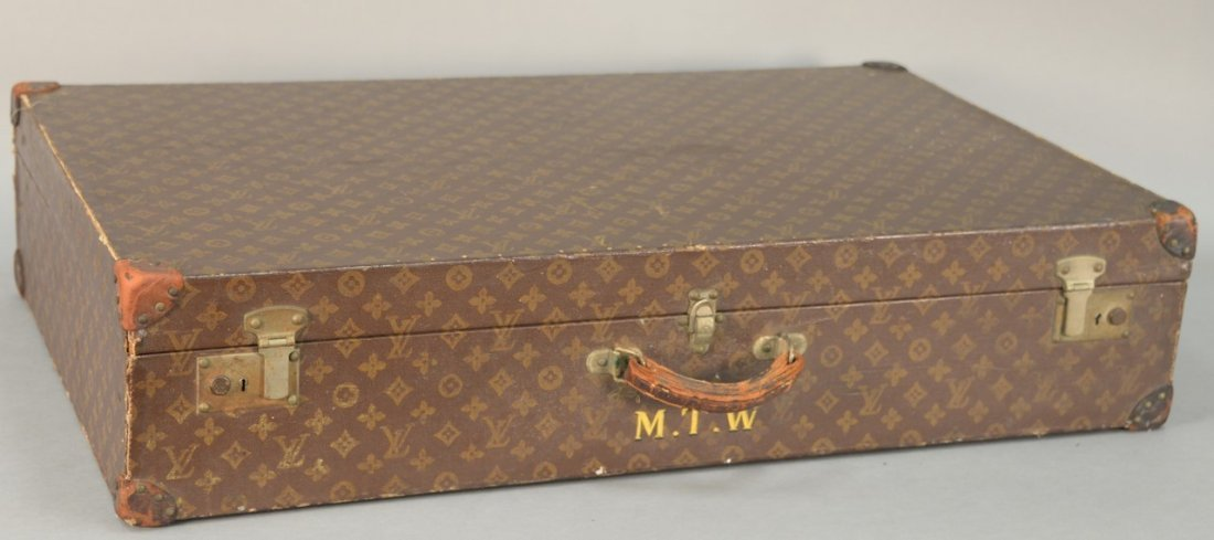 Louis Vuitton monogram canvas suitcase, hard shell with - 2