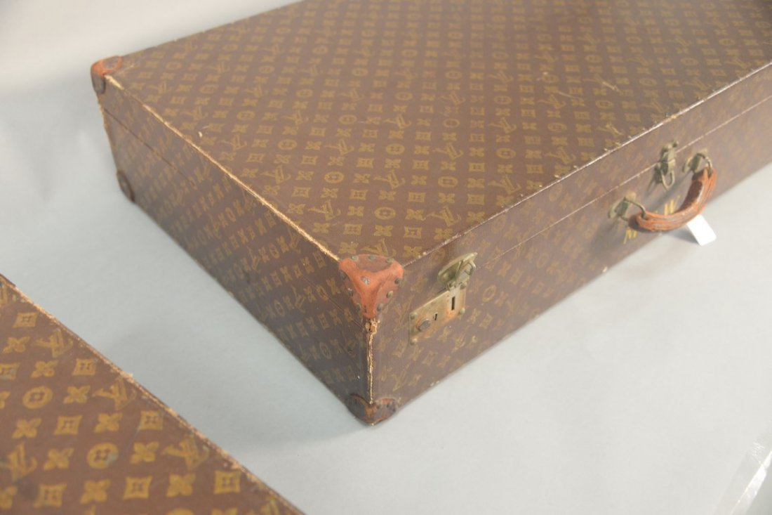 Louis Vuitton monogram canvas suitcase, hard shell with - 4
