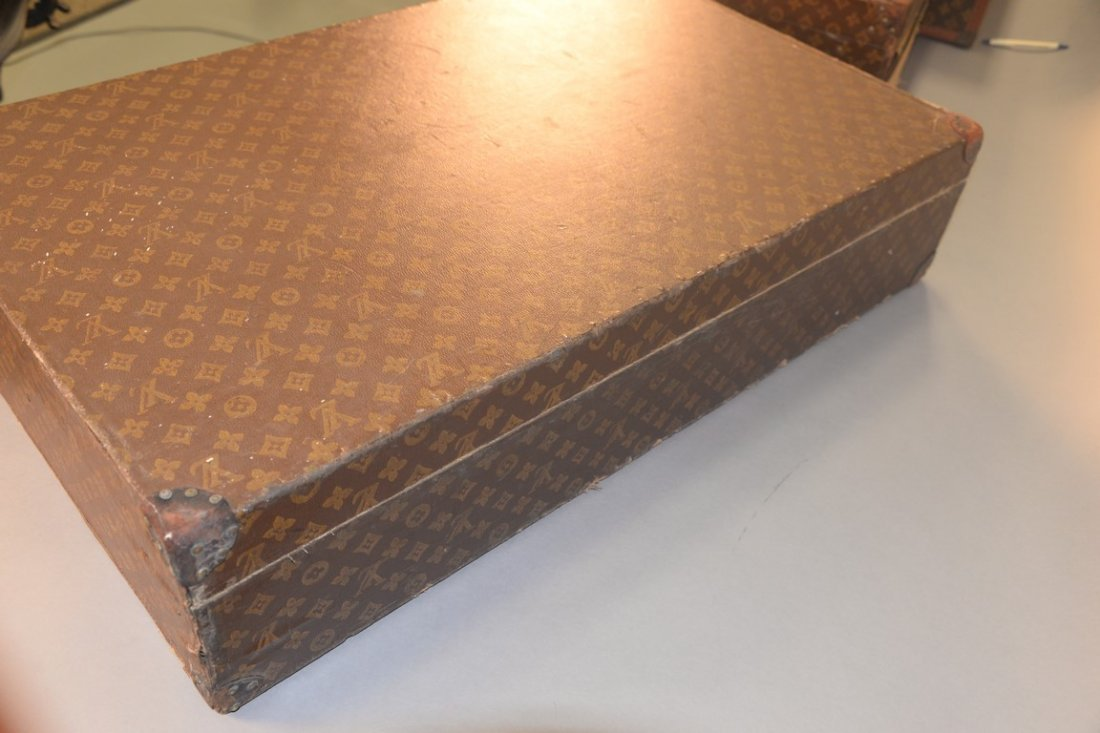 Louis Vuitton monogram canvas suitcase, hard shell with - 5