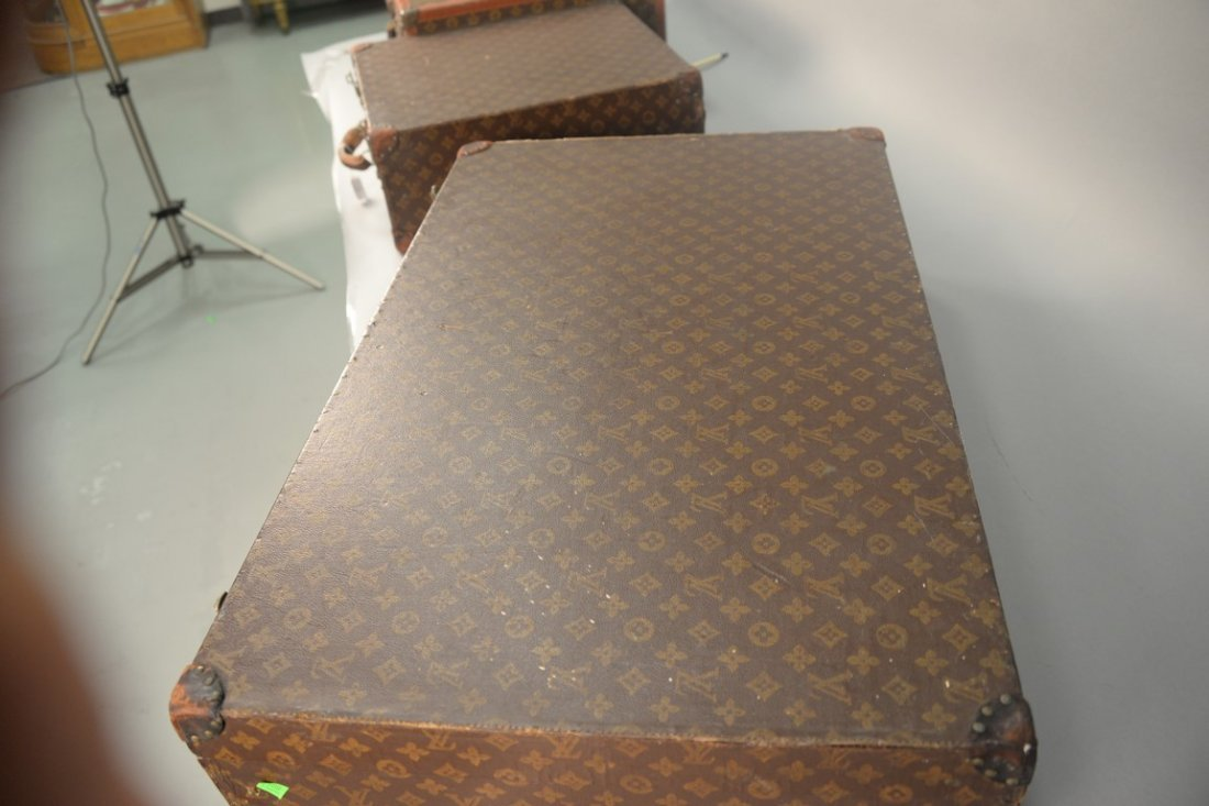 Louis Vuitton monogram canvas suitcase, hard shell with - 6