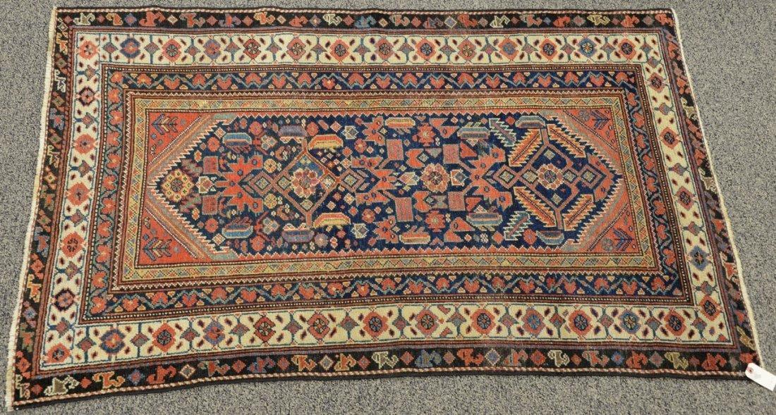 "Hamadan Oriental carpet, late 19th century.  3'9"" x"