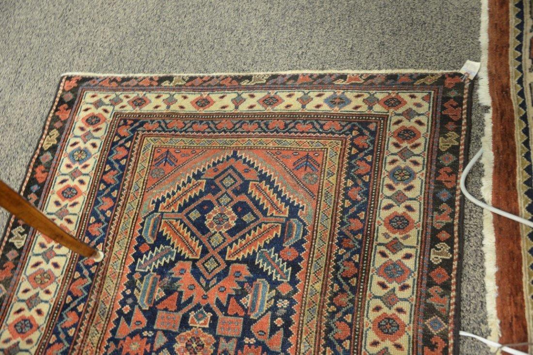 "Hamadan Oriental carpet, late 19th century.  3'9"" x - 5"