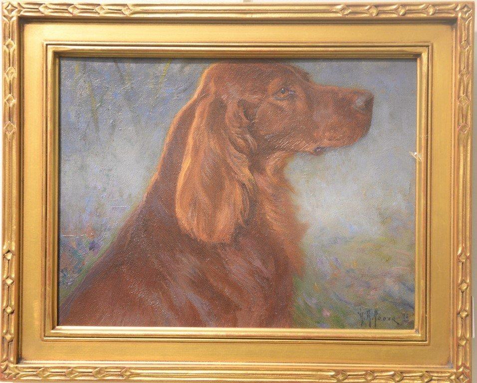 Henry Rankin Poore (1859-1940)  oil on artist board