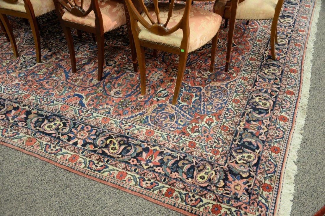 "Bahaktiari Southwest Persian Oriental carpet.  10'6"" x - 5"