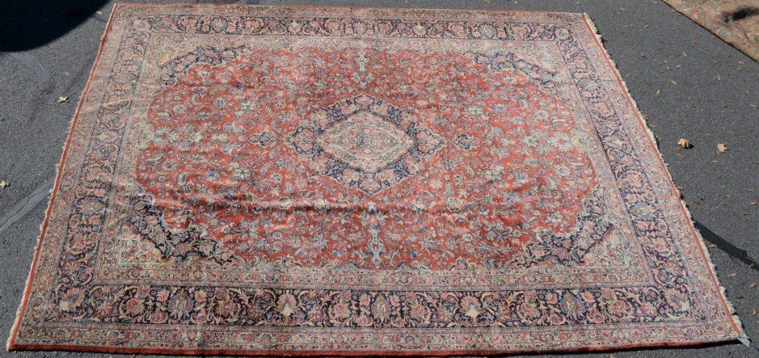 "Kazvin Oriental carpet.  9' x 11'6"""