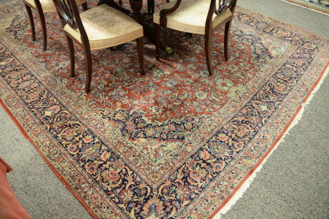 "Kazvin Oriental carpet.  9' x 11'6"" - 2"
