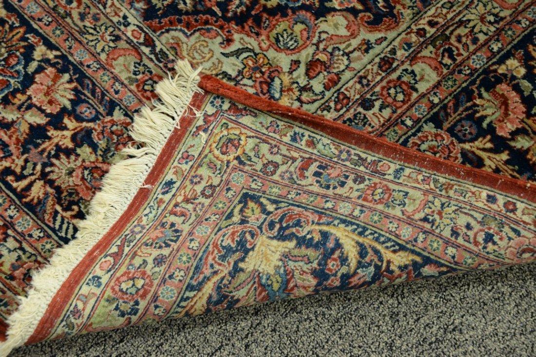 "Kazvin Oriental carpet.  9' x 11'6"" - 3"