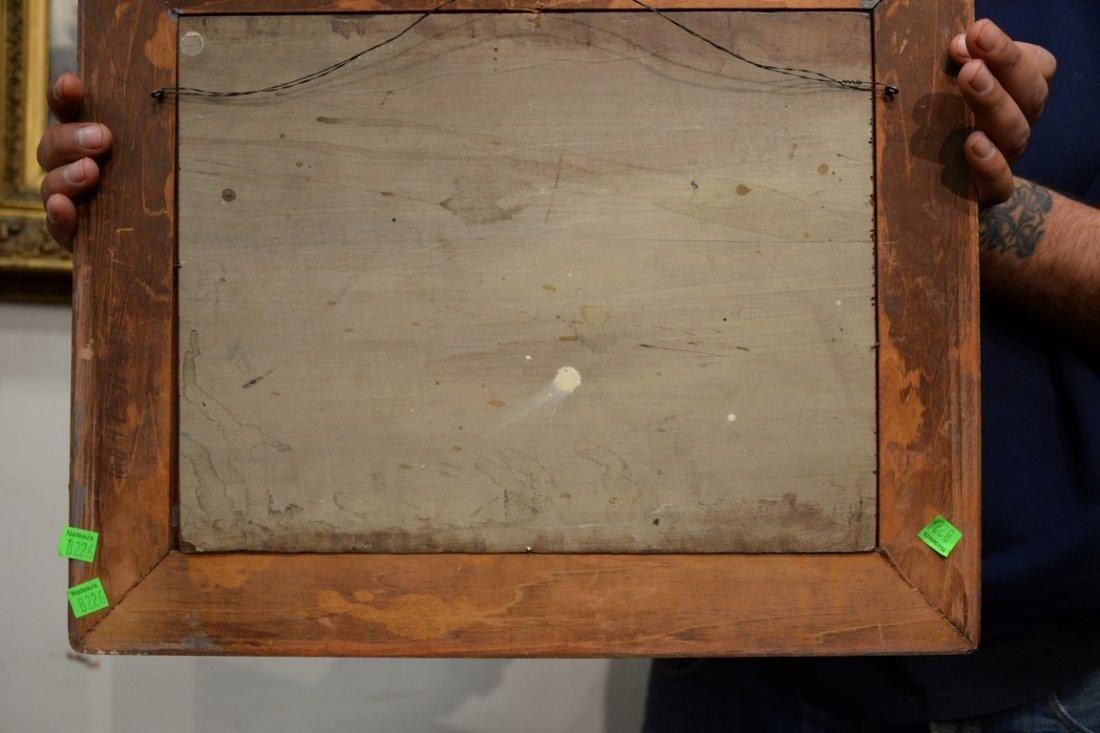 19th Century Venetian oil on panel  Scene with Sun - 3