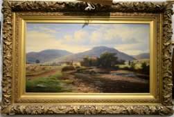 James Stewart (1841-1929)  oil on canvas  Mountainous