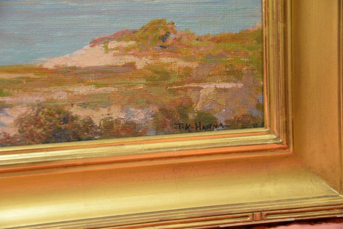 Thomas King JR Hanna (1872-1951)  oil on artist board - 2