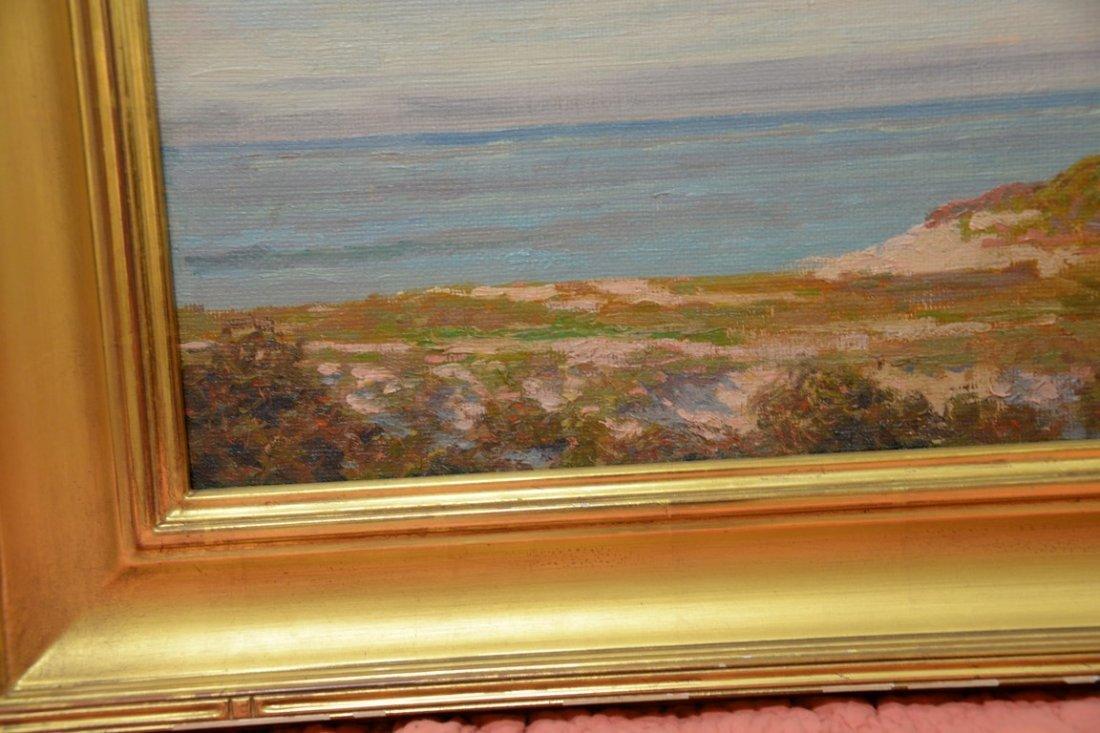 Thomas King JR Hanna (1872-1951)  oil on artist board - 3