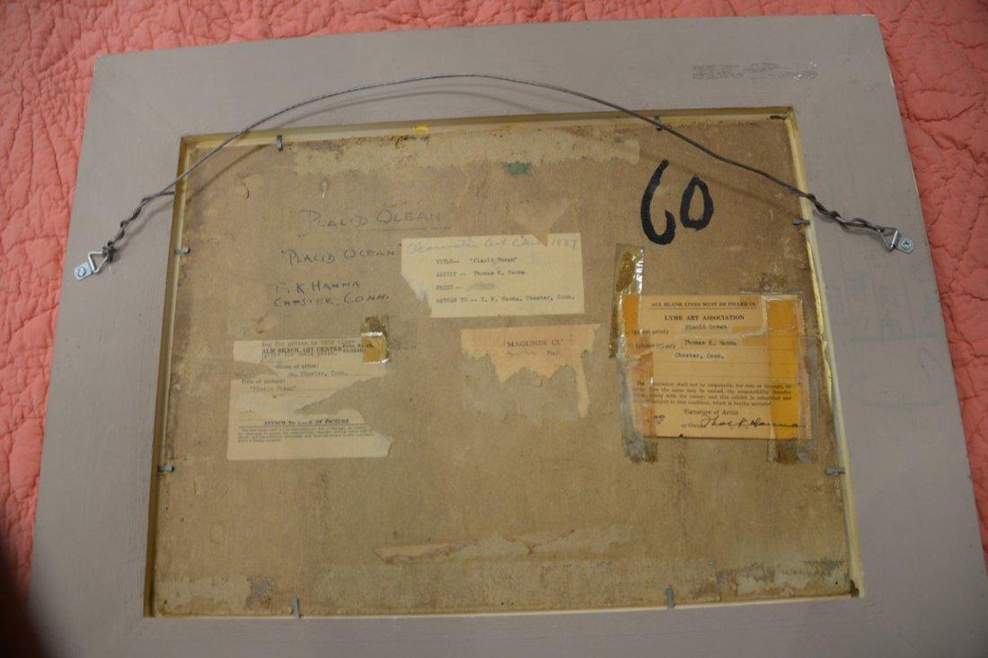 Thomas King JR Hanna (1872-1951)  oil on artist board - 4