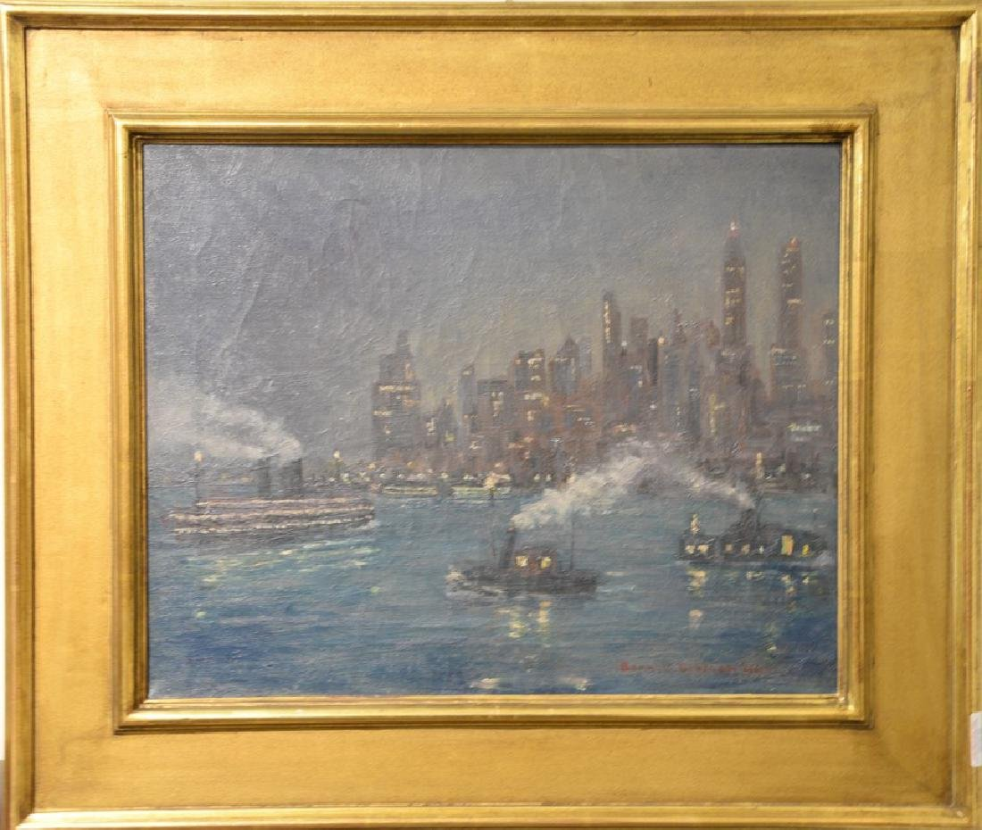 Bonnie Walson (early 20th century)  oil on canvas  New