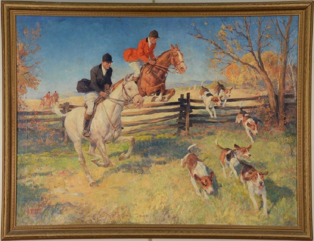 Arthur Ernst Becher (1877-1960)  oil on canvas