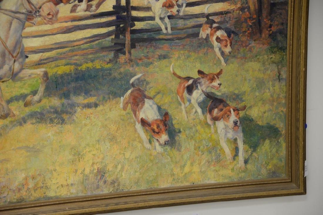 Arthur Ernst Becher (1877-1960)  oil on canvas - 4
