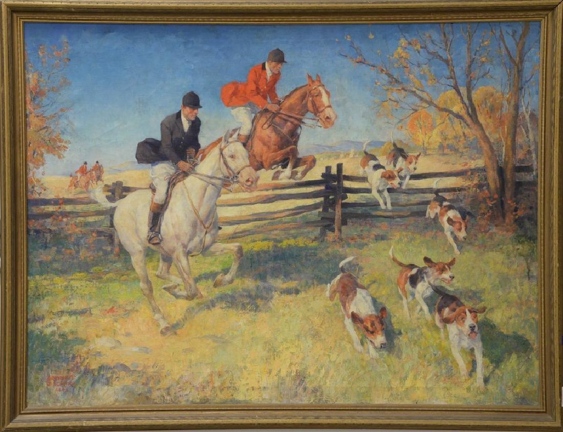 Arthur Ernst Becher (1877-1960)  oil on canvas - 6