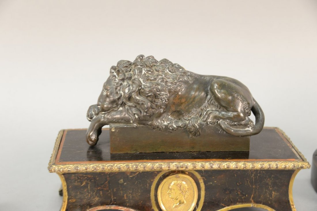 After Guiseppe Boschi (1760-1821)  two bronzes  Lion - 5