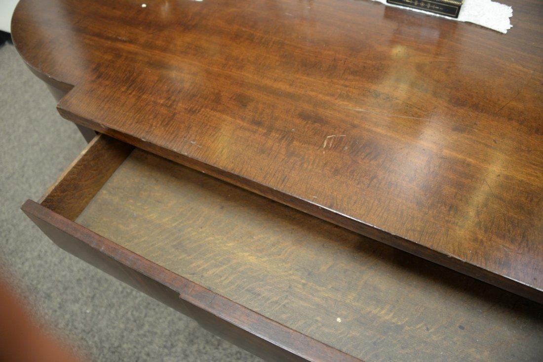 George III mahogany sideboard having brass gallery on - 6