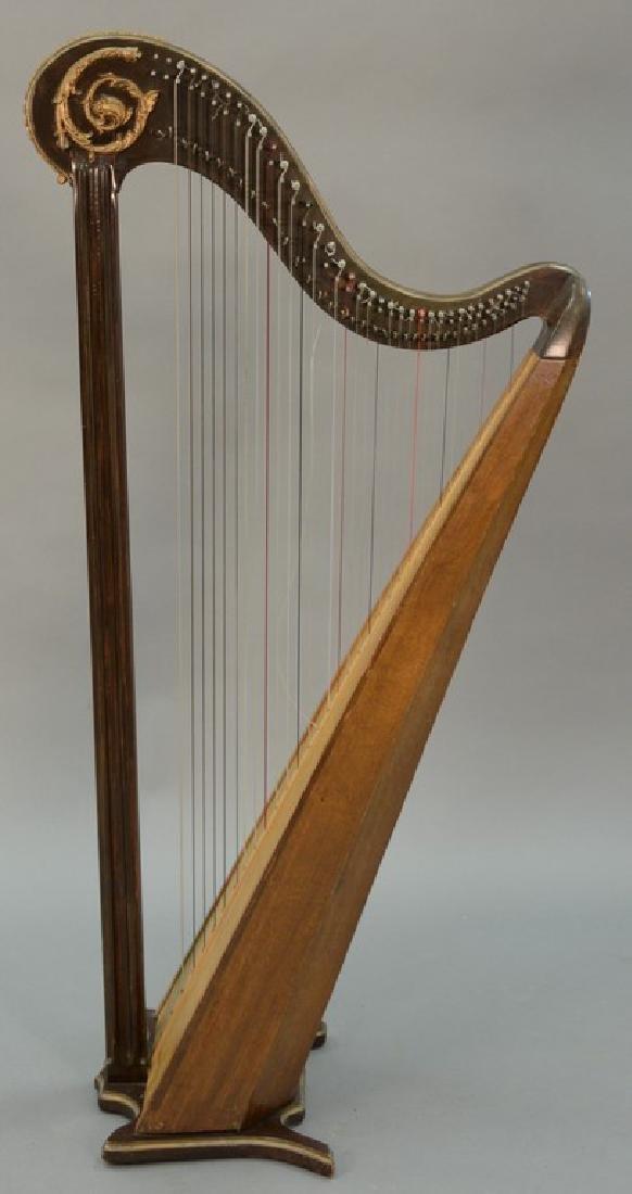 Harp. ht. 60in., wd. 30in.