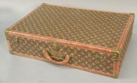 Vintage Louis Vuitton suitcase with two original inside