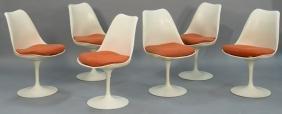Eero Saarinen Knoll International set of six tulip