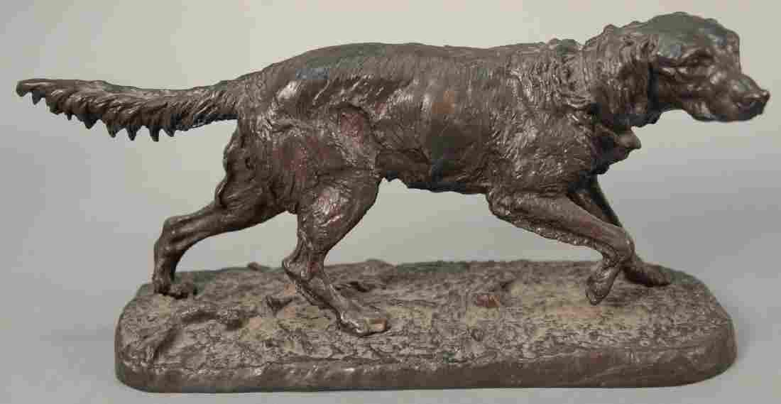 Pierre Jules Mene (1810-1879)  bronze  Figure of a