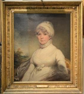 Attributed to Sir William Beechey (1753-1839)  oil on