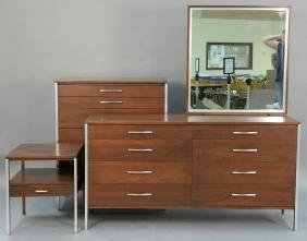 Paul McCobb for Calvin three piece bedroom set to inclu