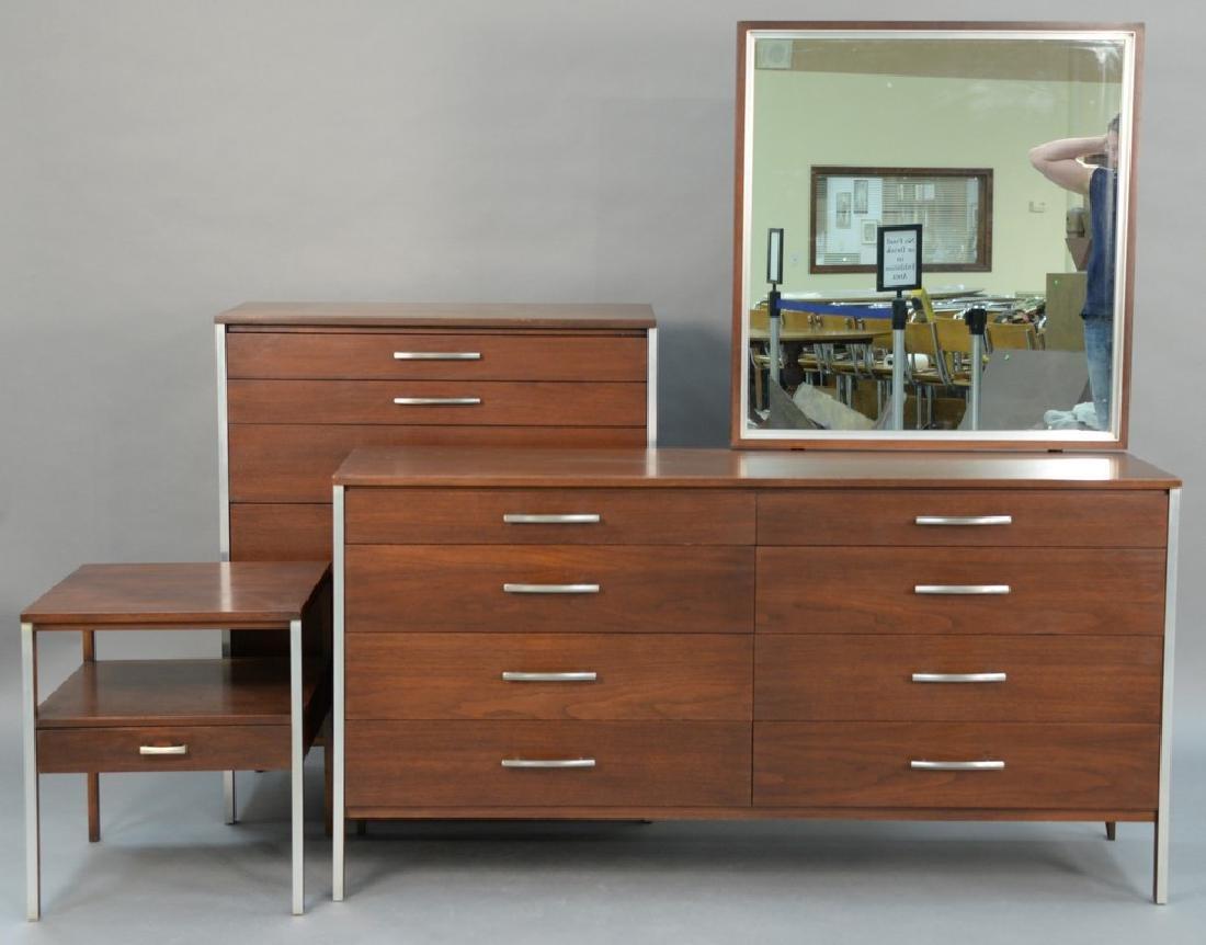 Paul McCobb for Calvin three piece bedroom set to inclu