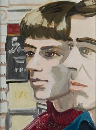 Alex Katz, geb. 1927 New York