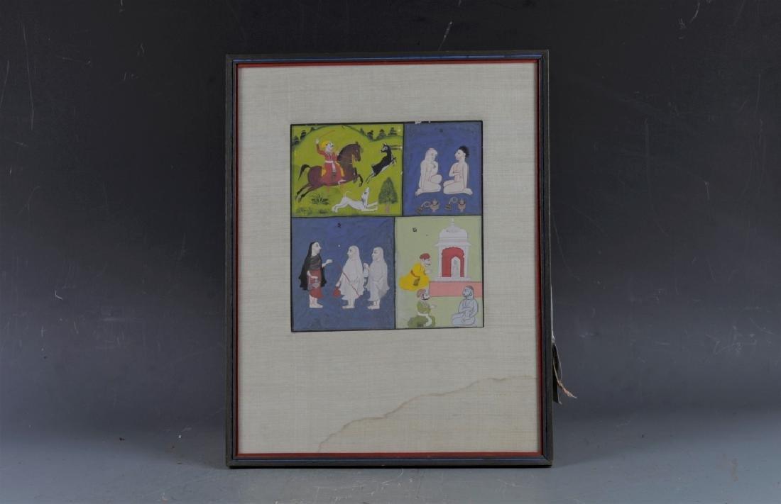 Rare Antique Indian Jain Miniature Painting